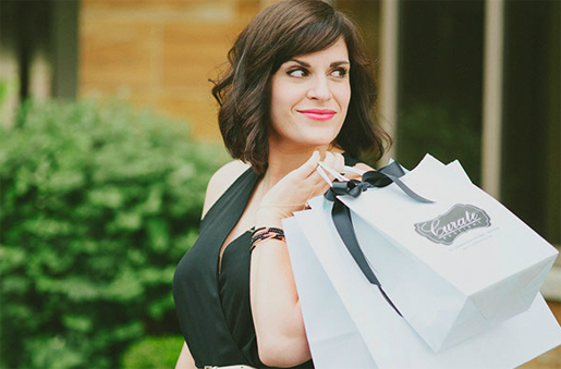 Courtney PeGan, owner and head curator at Curate Boutique