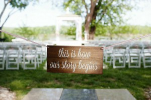 Decor item available for rent through One Fine Day. (Photo by: Kortnee Kate Photography​)