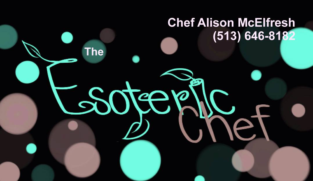 The Esoteric Chef is owned by Alison Mcelfresh, a personal chef who can meet the special dietary needs of any family.