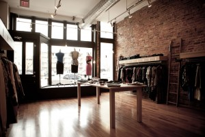 Sloane Boutique design and fabrication designed by Such + Such