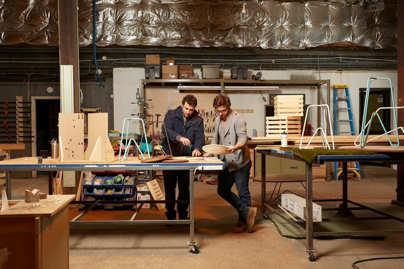 Alex Aeschbury and Zach Darmanian-Harris, co-owners of Such + Such