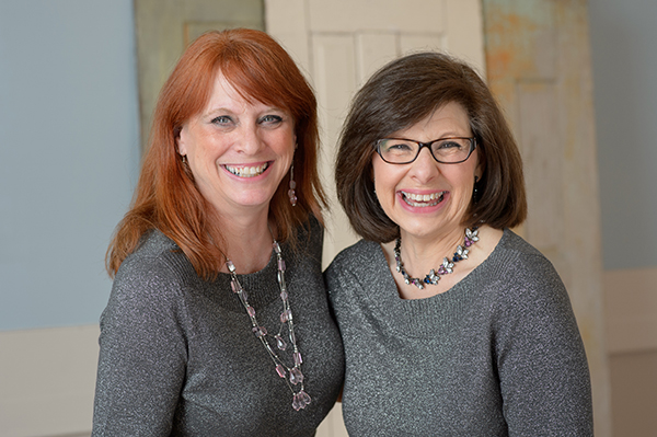 (left to right) Melinda Strobehn and Patti Davis, Co-Owners of Elegant Whims Certified Wedding Planners