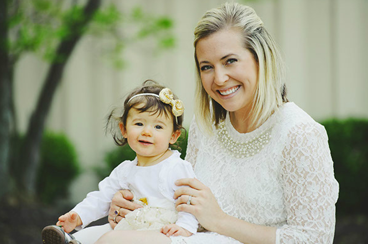 Amy Scalia and daughter Lola