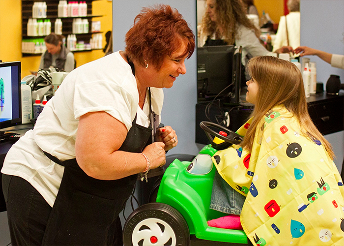 Junior Cuts in Milford is the perfect place to take your little one for their next cut.