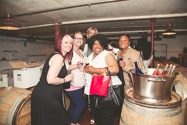 The Cincy Wine Wagon takes you on a tour of the area's nearby wineries.