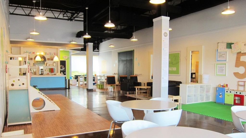 The OZO Play Cafe in Montgomery is a place where kids can be kids and adults can relax for a while.