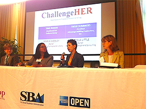 ChallengeHER is a national initiative stopping in Cincinnati next month to help female business owners secure federal contracts.