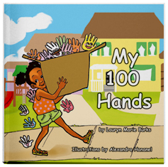 My 100 Hands is a children's book written by Lauryn Marie Burks.