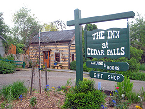 With a hardworking history, The Inn and Spa at Cedar Falls is located in beautiful Hocking Hills.