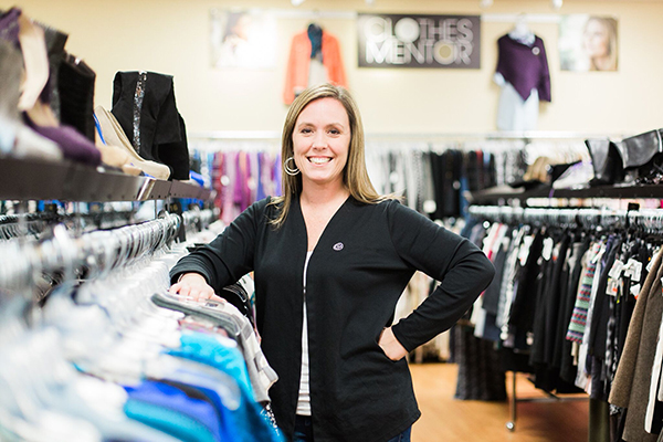 Kate Paynter, Owner of Clothes Mentor Hyde Park.