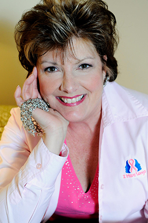 Janet Chambers, Founder and Executive Director of the I Have Wings Breast Cancer Foundation.