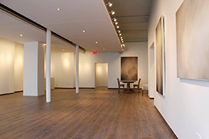 An inside view of the renovated Miller Gallery.