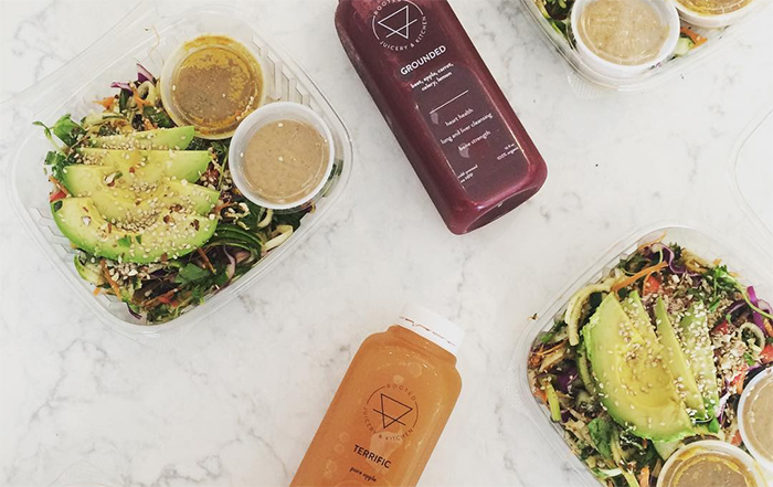Rooted Juicery + Kitchen offers plant-based items on its menu.