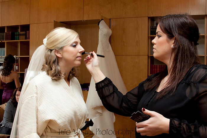 Blend Artistry Ohio helps brides look their best on their big day.