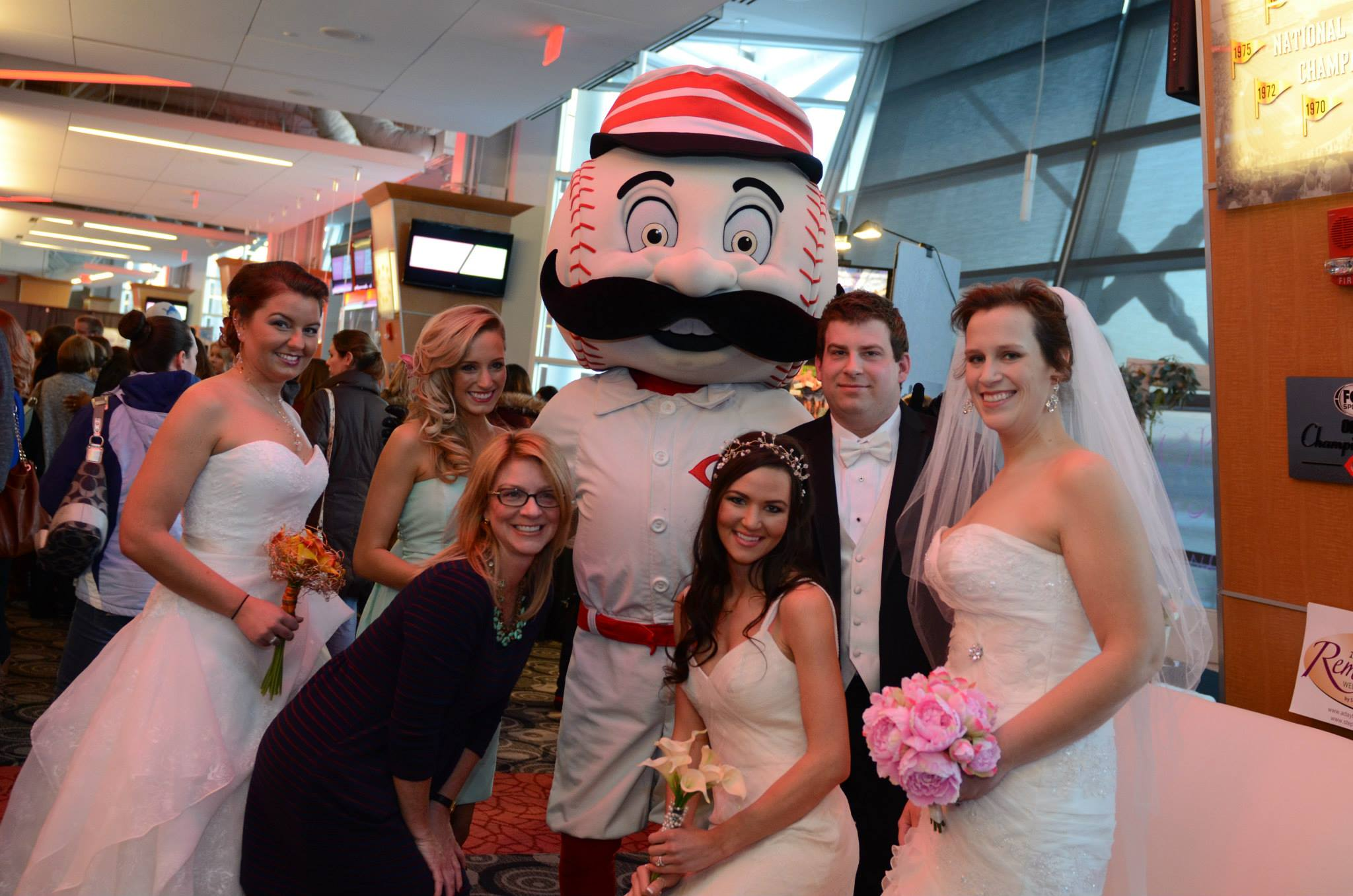 A Bride's Mafia will be hosting its annual Afterhours Bridal Show this March 10 at Great American Ballpark.
