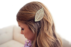 A hair piece created by Lucca Laser Workshop.