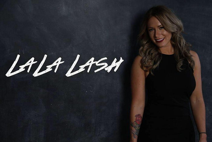 La La Lash offers eyelash extensions in Oakely.