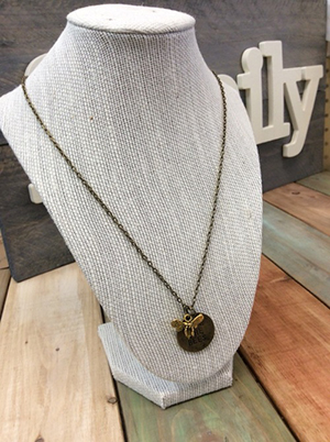 One of the necklaces available from the Gaiser Bee Co.