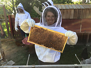 The Host-A-Hive program with the Gaiser Bee Co. allows you to do your part in helping to save the bees.
