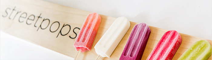 streetpops put a twist on traditional ice cream with unique flavors and all-natural ingredients.