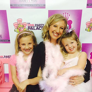 The Pink Party Palace offers Mommy & Me packages for you and your girl to get the princess treatment.