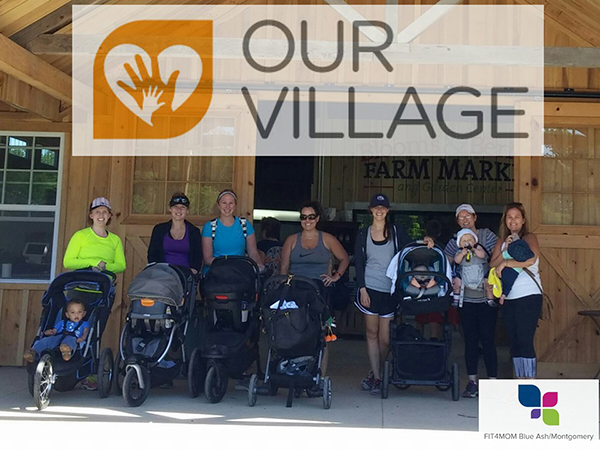 Fit4Mom Blue Ash/Montgomery is a fitness group that includes moms and their babies.