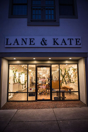 Lane & Kate is located on High Street in Oxford.