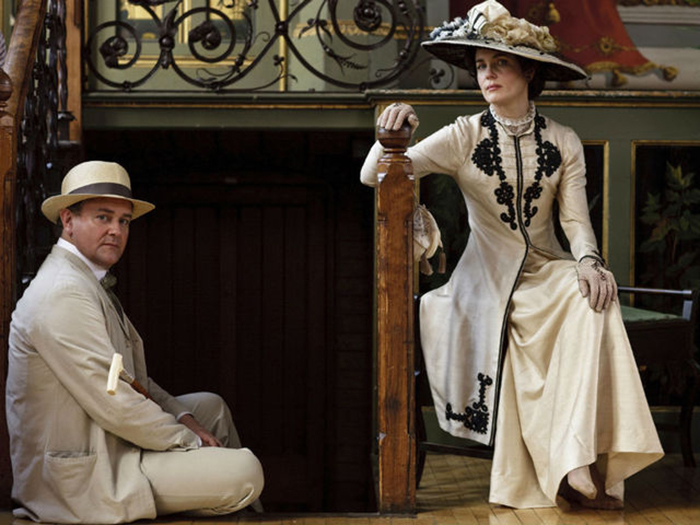The Taft Museum is showcasing costumes from Downton Abbey.