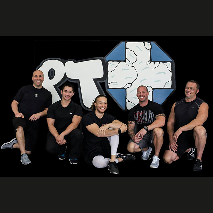 PT Plus is a local facility that allows trainers to focus on their clients and build a customized fitness program.