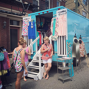 Trouvaille Traveling Boutique will also be at the Ruffles and Rust Expo in October.