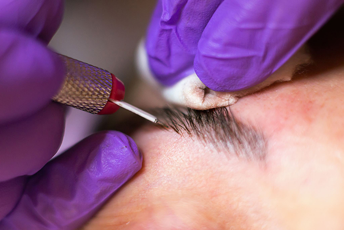 Microblading is a new technique that gives you natural-looking eyebrows.