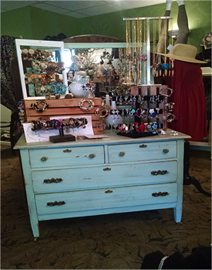 Home decor items can also be found at Monera Chic Boutique.