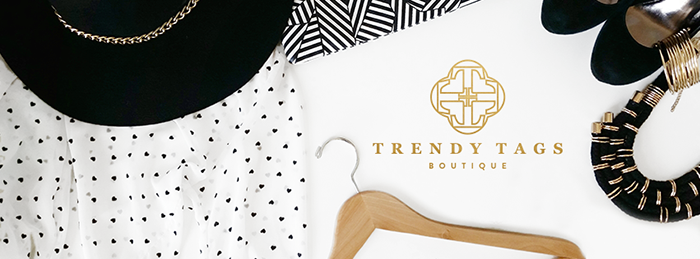 Trendy Tags is an online-only boutique